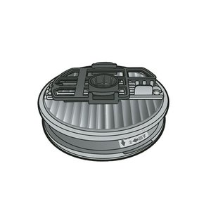 パナソニック掃除機クリーナー用 プリーツフィルター AMV86L-AT0|w-yutori