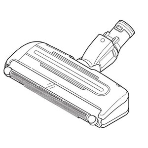 MC-SXJ4100 対応 掃除機 ヘッド パナソニック ナショナル 床用ノズル AMV99R-FR0W 送料無料|w-yutori