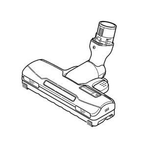 MC-SR31G MC-SC31RG 対応 掃除機 ヘッド パナソニック ナショナル 床用ノズル AMV85P-FS0U 送料無料|w-yutori