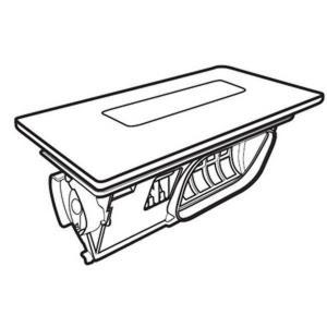 パナソニック 洗濯機 乾燥フィルター(クリスタルホワイト) AXW2XK9DA0|w-yutori