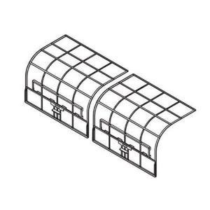 パナソニック エアコン用 エアフィルター(1枚) ACRD00-01860|w-yutori