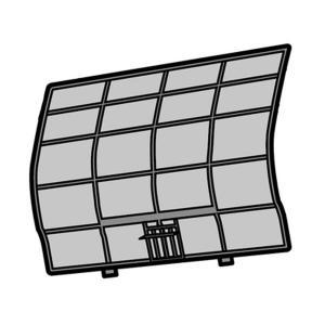 パナソニック エアコン用 エアフィルター CWD001275|w-yutori