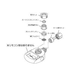 パナソニック 水切替えレバーTK8050S7667 w-yutori