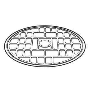 パナソニック 丸皿受け台(あみ)A201F-11X0