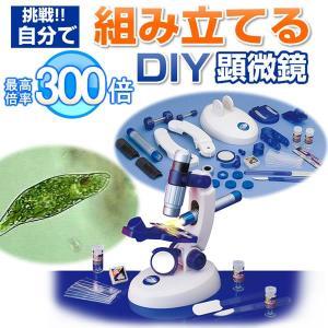 顕微鏡 子供 小学生の自由研究に 自分で組み立てる顕微鏡  STV-300DIYM w-yutori