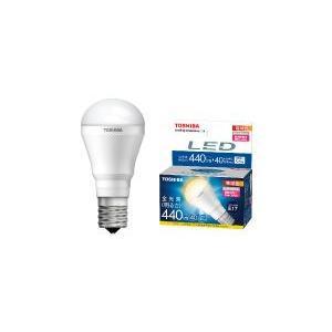 東芝LED電球 ミニクリプトン形5.6W 明るさ重視タイプ (電球色)E17口金 440lm LDA6L-H-E17/S|w-yutori
