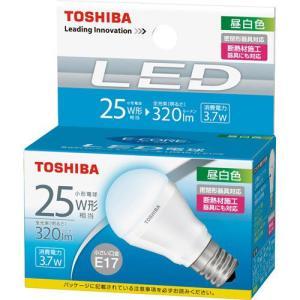 LED電球 E17 昼白色 東芝 25W相当 LDA4N-H-E17/S小形電球形 セール|w-yutori