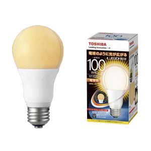 LED電球 e26 電球色 LDA16L-G/100W  東芝  一般電球形 15.7W/E26口金 ※取寄せ品|w-yutori