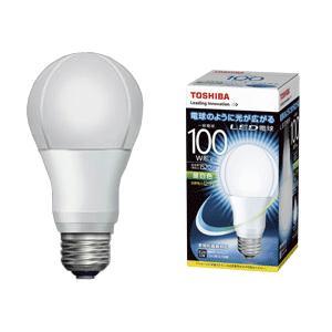 LED電球 e26 電球色 LDA13N-G/100W  東芝  一般電球形 12.9W/E26口金 ※取寄せ品|w-yutori