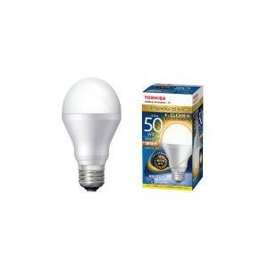 東芝 一般電球形 調光器対応 電球色 50W相当 広配光 約180度 E26口金 640lm  LDA8L-G-K/D/50W|w-yutori