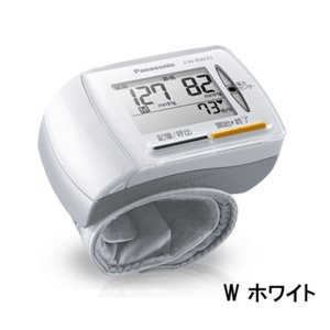 手くび血圧計 EW-BW33 [W ホワイト] パナソニック※取寄せ品|w-yutori