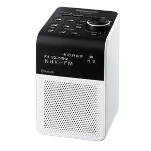 パナソニック シンセサイザーチューナー(受信専用機) FM/AM 2バンドラジオ RF-200BT 送料無料|w-yutori