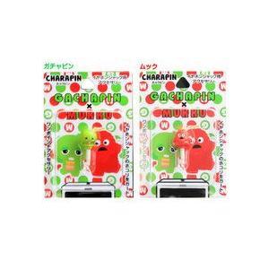 ガチャピン・ムック キャラピン FT-24 [ガチャピン/ムック/イヤホンジャック/スマートフォンアクセサリー/iPhone4Sアクセサリー/3.5φ] w-yutori