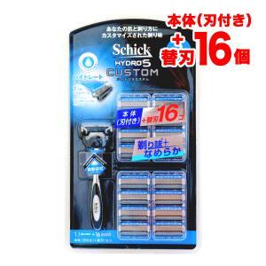 シック ハイドロ5 髭剃り 5枚刃 替刃 替え刃 SCHICK HYDRO5 17 (ホルダー1本+プラス 替刃17個入)