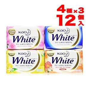 内容量:(130g × 12個)ホワイト × 3 アロマティックローズの香り × 3 リフレッシュシ...