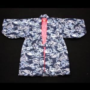 日本製 子供はんてん(綿入れ半纏)昇り龍|wa-raku