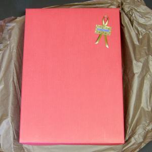 化粧箱に入れて包装紙で包む ギフト包装)|wa-raku