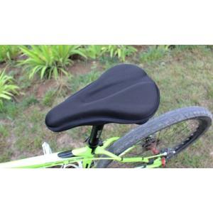 自転車 サドルカバー 低反発 痛くない ロードバイク マウンテンバイク シート パッド
