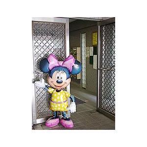 バルーン電報 誕生会 飾り付け キャラクター ディズニー 超でかひょこ ミニーちゃん2バルーンセット|wac-up|04