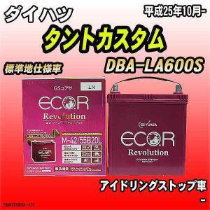バッテリー GSユアサ ダイハツ タントカスタム DBA-LA600S 平成25年10月- ER-M...