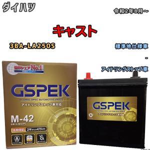 バッテリー デルコア ダイハツ タントカスタム DBA-LA600S 平成25年10月- M-42