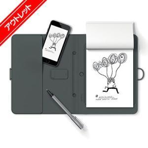 【アウトレット】 Bamboo Spark ガジェットポケット (CDS600GG) ワコム スマートフォリオ デジタルノート