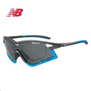 ニューバランス new balance スポーツサングラス 08086 C4P 偏光|wadamegane