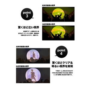 双眼鏡 コンサート ドーム ライブ おすすめ ...の詳細画像5