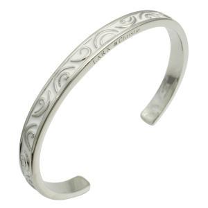 ララクリスティー バングル シルバーアクセサリー シルバー レディース セイントグラス WHITE Label b3036-w|wafg