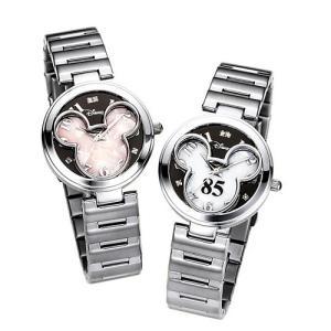ミッキー 85周年記念フェイスウォッチ シリアルナンバー入! 限定プレミアムウォッチ! (天然ダイヤモンド 稀少モデル) DISNEY 腕時計|wafg