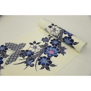 −わ・ふうの浴衣− 経絽浴衣「蝶と花」|wafuu-store
