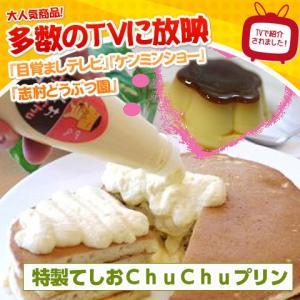 特製てしおChuChuプリン 6個入り 北海道銘菓 マヨネーズ型プリン お取り寄せ お土産 ギフト プレゼント 特産品 名物商品 バレンタイン おすすめ wagamachi-tokusan