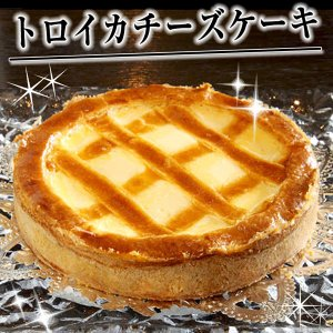 トロイカ ベークドチーズケーキ 6号 約8人分 岩手県 忘れられないベイクドチーズケーキ お取り寄せ お土産 ギフト プレゼント 特産品 名物商品 残暑見舞い|wagamachi-tokusan