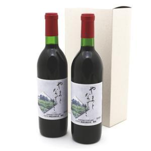日本ワイン やまとなでしこ 2018 ヴィンテージ 2本入り 数量限定 赤ワイン なでしこ農園 山梨県 お取り寄せ お土産 ギフト プレゼント 特産品 名物商品 敬老の日|wagamachi-tokusan