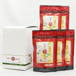 和紅茶 伊勢の和紅茶5袋セット 三重県 お取り寄せ お土産 ギフト プレゼント 特産品 名物商品 ホワイトデー おすすめ wagamachi-tokusan