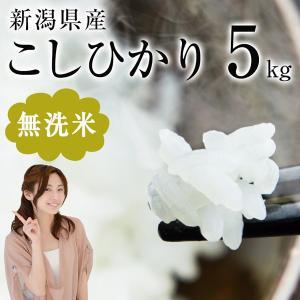 お米 5kg こしひかり 無洗米 新潟県産 28年産 米匠庵...