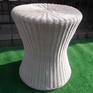 籐家具 カルチェラタン オリジナル国産ウィツカー編みスツール...