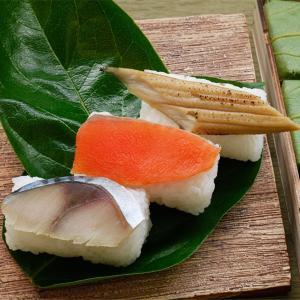 柿の葉寿司 柿の葉ずし3種15個(鯖・鮭・穴子) 奈良県 お取り寄せ お土産 ギフト プレゼント 特産品 名物商品 父の日|wagamachi-tokusan