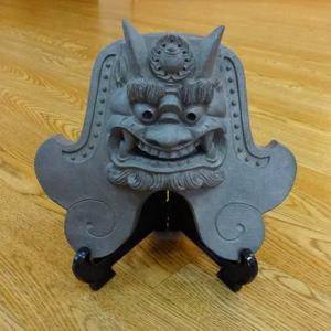 奈良県 大和瓦鬼師の手づくり鬼面 お取り寄せ お土産 ギフト プレゼント 特産品 名物商品 父の日|wagamachi-tokusan