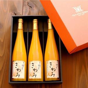 和歌山県産 きわみ 温州みかん 100% ストレートジュース 3本 フルーツジュース 果物 蜜柑 お...
