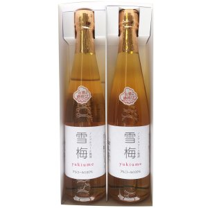 ノンアルコール 梅酒 雪梅 500ml 2本入 お取り寄せ お土産 ギフト プレゼント 特産品 名物商品 父の日|wagamachi-tokusan