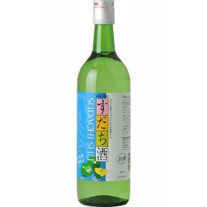 鳴門の酒  しゅムリエ すだち酒 720ml×6本セット 徳島県 お取り寄せ お土産 ギフト プレゼ...
