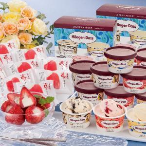 ハーゲンダッツ&苺アイス(A-HGD)洋菓子 ギフト スイーツ お取り寄せ お土産 ギフト プレゼント 特産品 名物商品 おすすめ|わが街とくさんネット