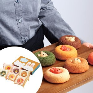 カリーノ アニマルドーナツ 6個 スイーツ 洋菓子 カワイイ くま うさぎ お取り寄せ お土産 ギフ...