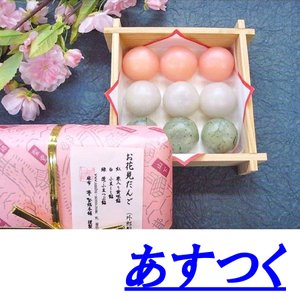 お花見だんご(お花見団子)/さくら(サクラ)春の桜の和菓子お...