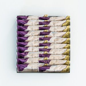 黒糖ふくさ餅【20個入】|wagashi-murakami