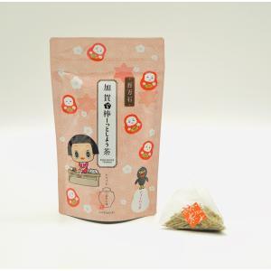 上林 金沢 茶舗 ほうじ茶 加賀 棒茶 加賀で棒ーっとしよう茶 [24g(3g×8)] ティーバック 金沢 お茶 チコちゃん|wagashi-murakami