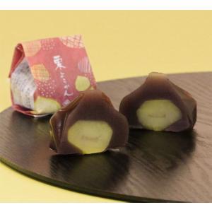 金沢 栗羊羹 1個 和菓子 村上|wagashi-murakami