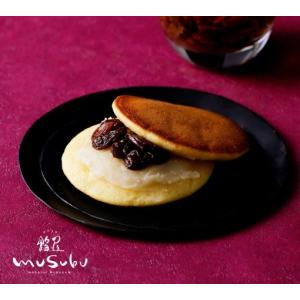 MUSU-DORA 5個入 むすどら どら焼き どらやき ミルク餡 ラムレーズン ラム酒 餡屋musubu どらやき お取り寄せ 和菓子村上 和菓子 金沢 和菓子|wagashi-murakami