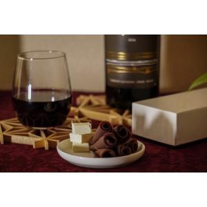 お中元 に ワイン に合う 美味しい チョコレート ようかん  月風  オレンジ 「風りゅうようかん月風」|wagasi-denpudo